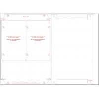 Acrylic Plate: Bud Box 32026 Double Decker Mounting Plate